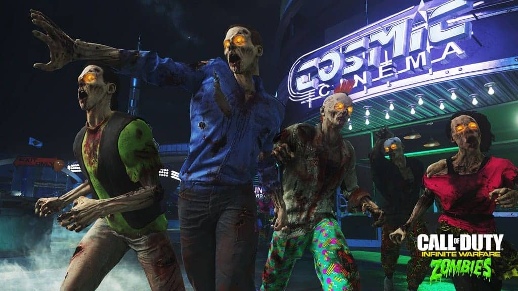 Zombies in Spaceland Elemental Effects