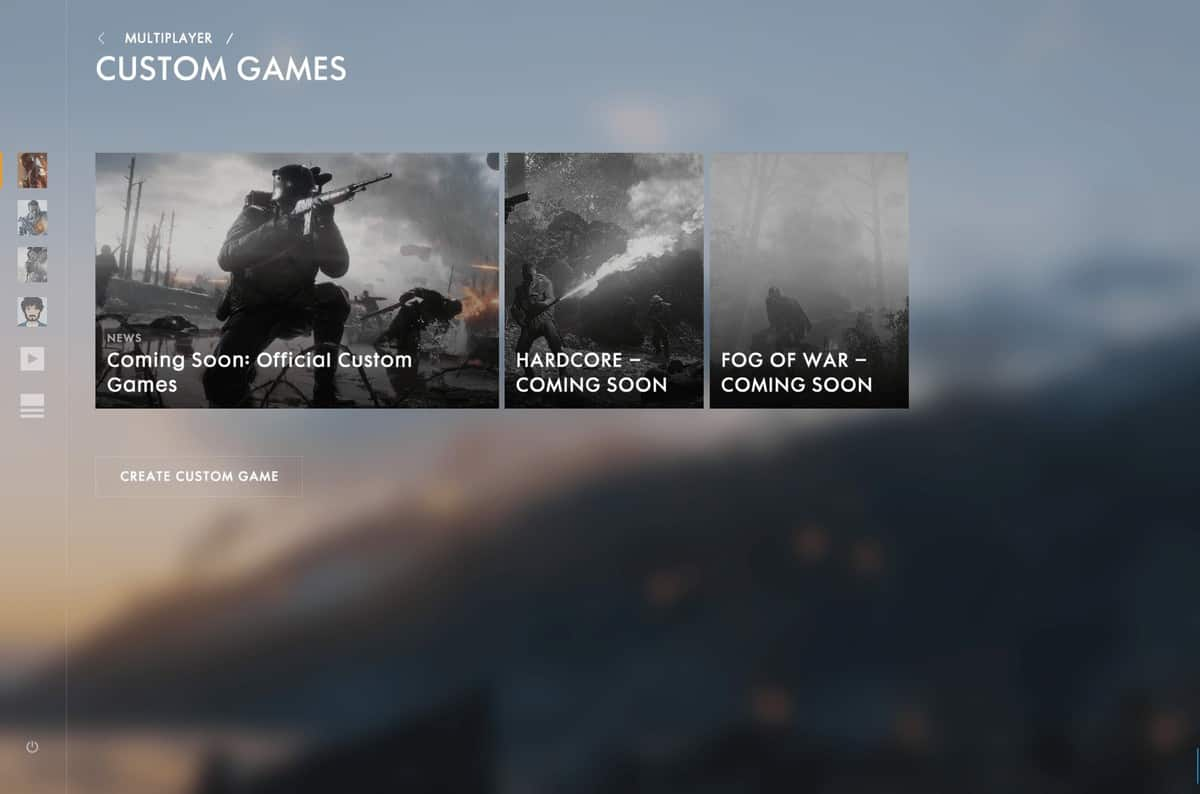 New November Battlefield 1 Patch is Now Live
