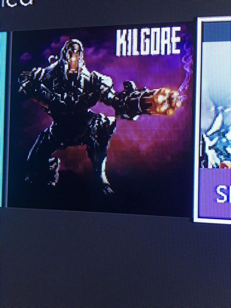new Killer Instinct character Kilgore