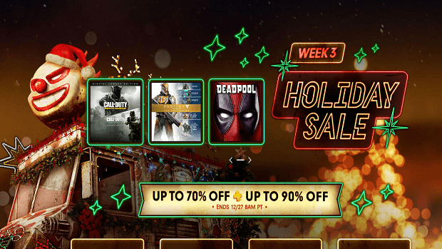 PlayStation Store Holiday sale week 3