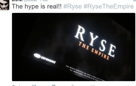 A Ryse 2: The Empire Image is Circulating the Web, Sequel or a Hoax?