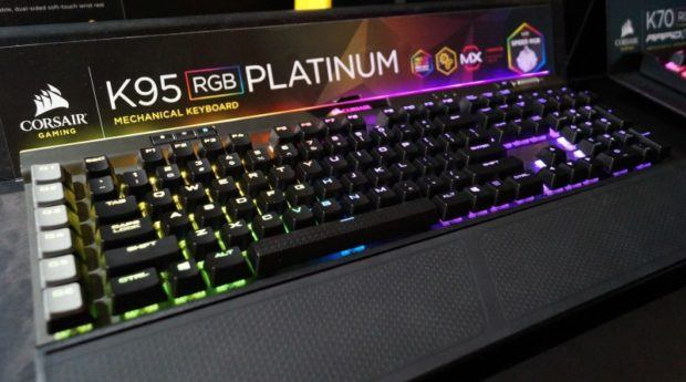 top 10 gaming keyboards,K95 RGB platinum