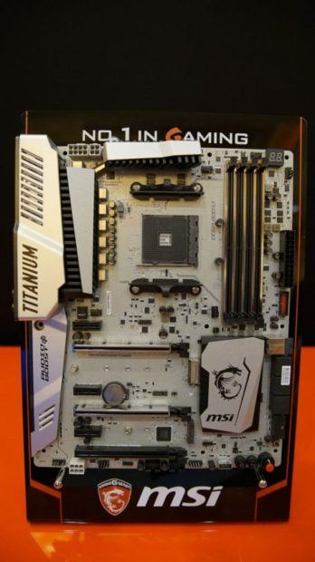 MSI AM4 X370 Motherboards
