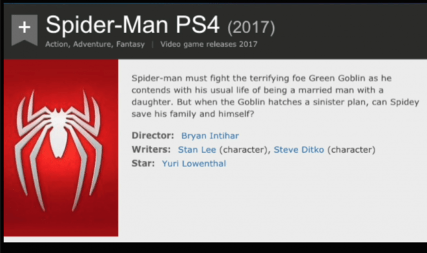 Spider-Man PS4 Story Details