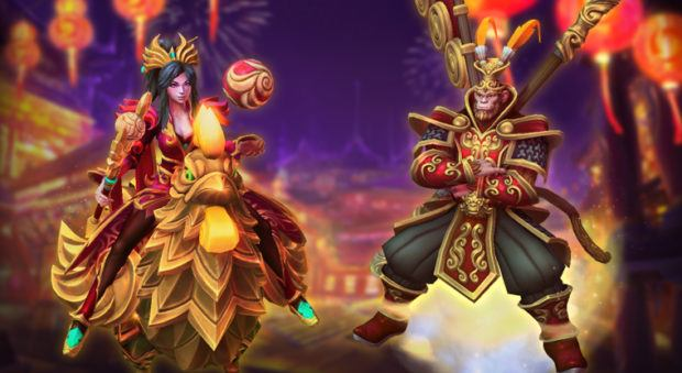 Heroes of the Storm Lunar Festival