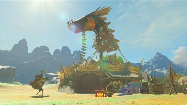 Legend Of Zelda Breath Of The Wild screenshot