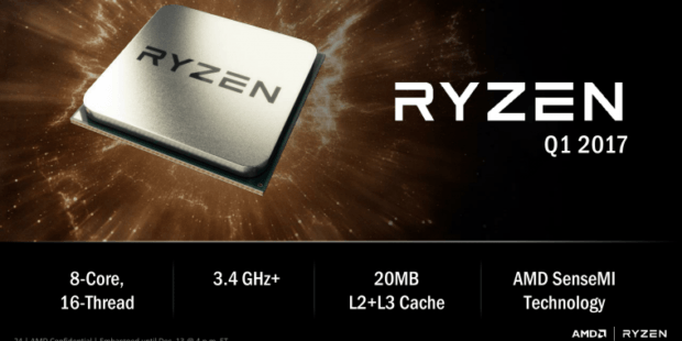 AMD, Ryzen CPU, 8-Core,