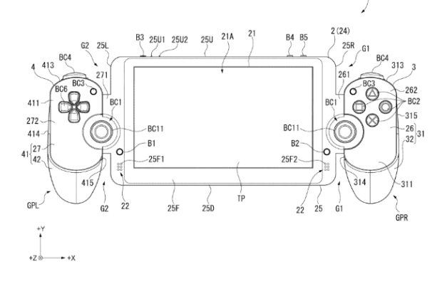 New PS Vita Patent