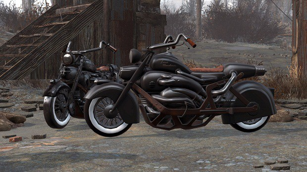 Fallout 4 Derivable Motorcycle Mod Lets You Drive And