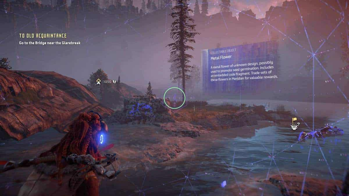 Horizon Zero Dawn Metal Flowers Locations Guide