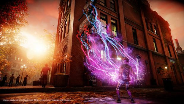 Infamous Second Son PS4 Pro 4K