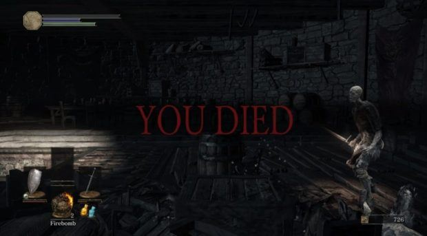 Dark Souls 3 You Died