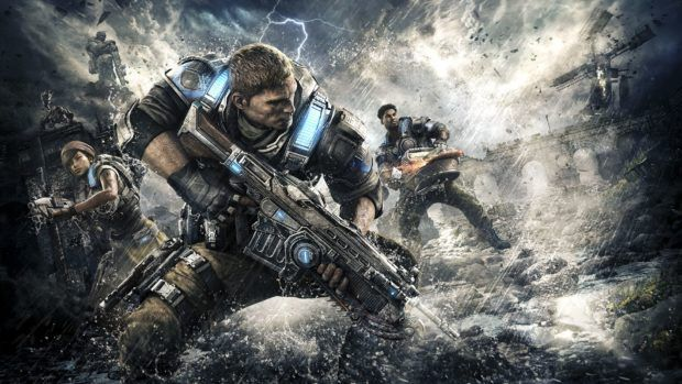 Gears Of War 4 Getting HDR And 4K Support For Xbox One X This Month