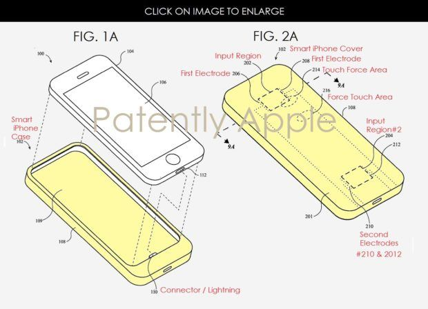Apple, iPhone X, Patent, No physical Home Button