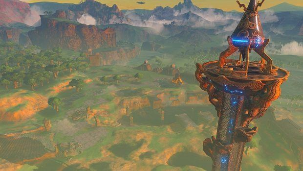 Image result for breath of the wild towers