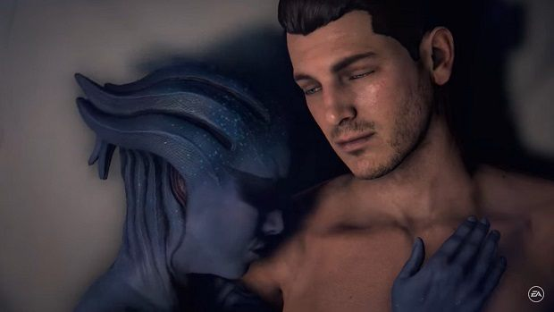 Mass effect to include sex scene