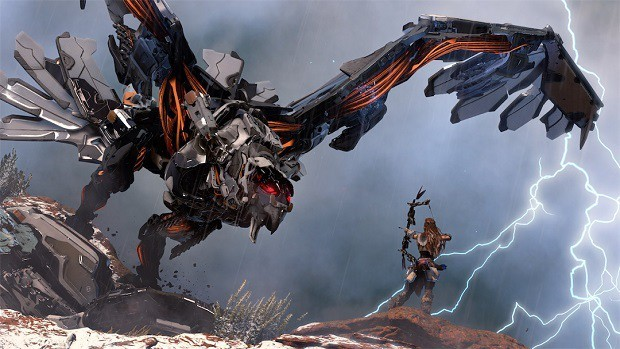 Horizon Zero Dawn Behemoth