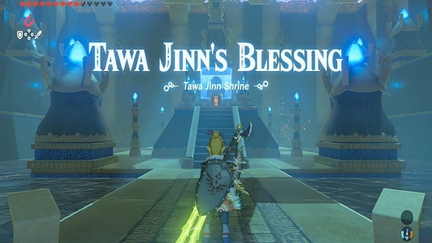 Zelda: Breath of the Wild Tawa Jinn Shrine Guide
