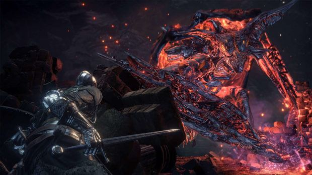 Dark Souls 3 The Ringed City Earthen Peak Ruins Walkthrough