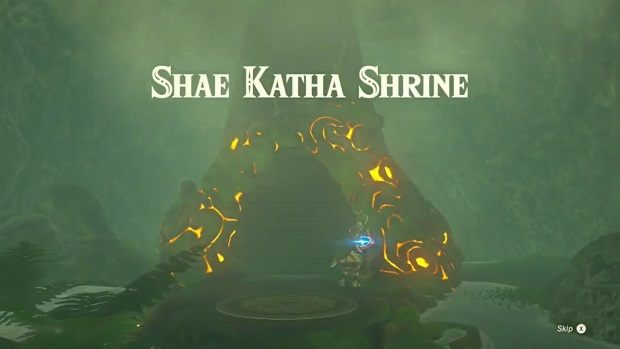 Zelda: Breath of the Wild Shae Katha Shrine Guide