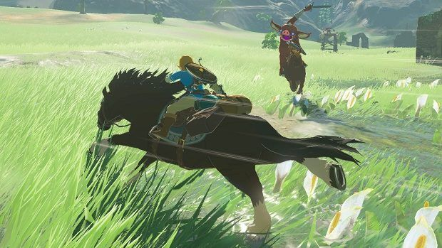 Zelda: Breath of the Wild Lord of the Mountain