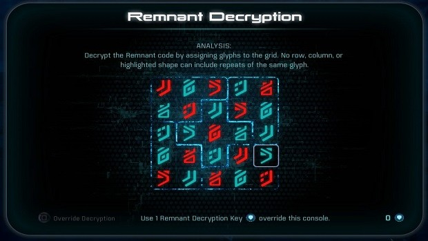 Mass Effect Andromeda Remnant Puzzle Solutions