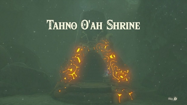 Zelda: Breath of the Wild Tahno O'ah Shrine Guide
