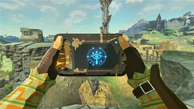 Legend Of Zelda Breath Of The Wild Sheikah Slate Upgrade