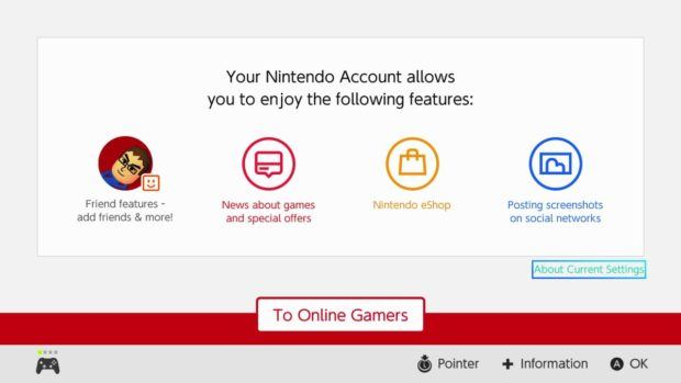 Nintendo Switch Paid Services