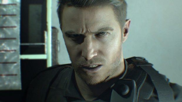 Chris Redfield Resident Evil 7 DLC, Resident Evil 7 Not A Hero DLC