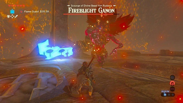 Zelda Breath Of The Wild Fireblight Ganon Guide How To