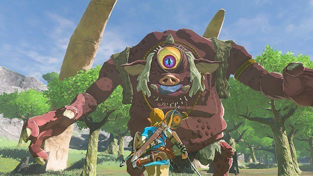 Zelda: Breath of the Wild Hinox
