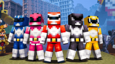 Power Rangers Minecraft Skin Pack