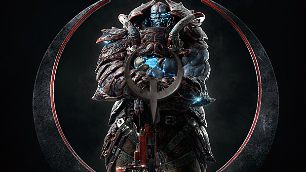 Quake Champions Scalebearer Trailer Arrives, He's Strong and Looking for Vengeance
