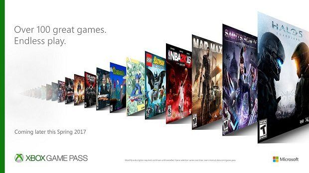 Xbox Game Pass game list