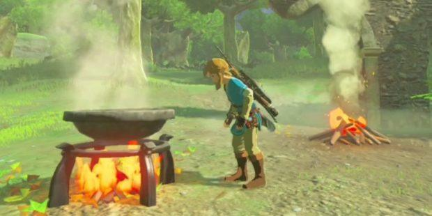 Zelda: Breath of the Wild Cooking Guide