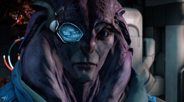 Mass Effect Andromeda gameplay introduces Jaal