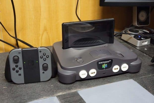 nintendo switch n64 dock mode