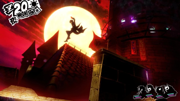Persona 5 fighting game