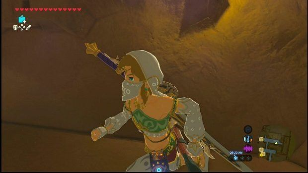 Zelda: Breath of the Wild Gerudo Secret Club Password