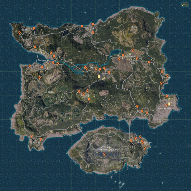 PlayerUnknown's Battlegrounds Cars Locations Guide