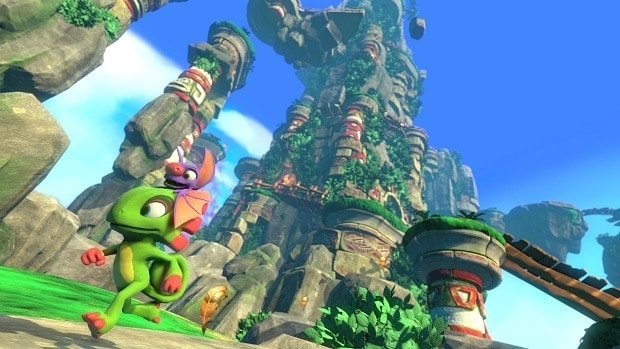 Yooka-Laylee Tribalstack Tropics Ghost Writers