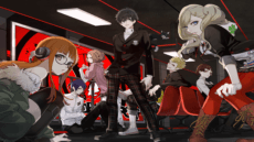 Persona 5 TV Video Game
