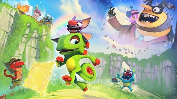 Yooka-Laylee Moodymaze Marsh Pagies Locations Guide