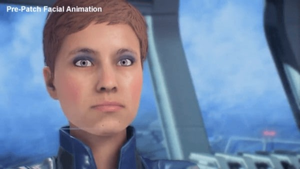 Mass Effect Andromda My Face is Tired