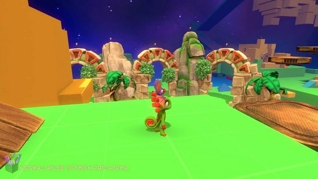 Yooka-Laylee Toybox Secret