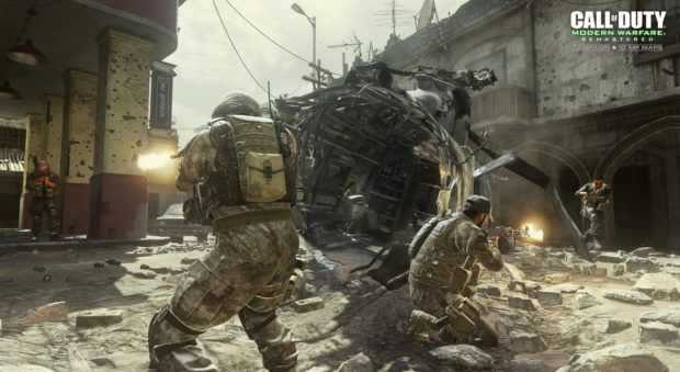 Call of Duty: Modern Warfare remastered listing