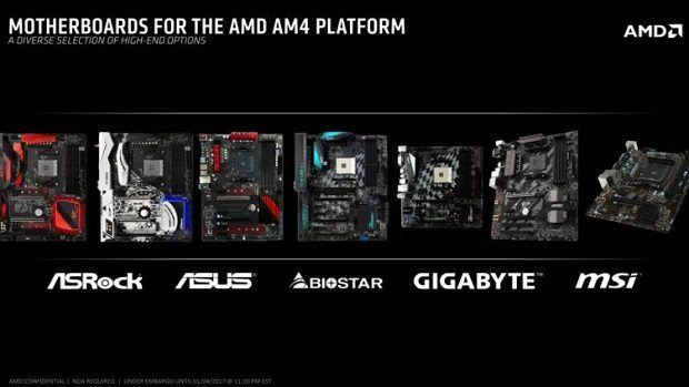 AMD motherboard partners