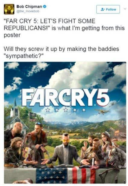 People Are Excited to Kill Republican White Men in Far Cry 5