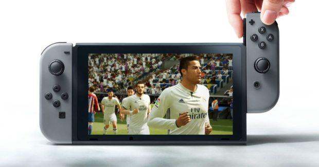 FIFA 18 Nintendo Switch version